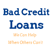Bad Credit Loans Available