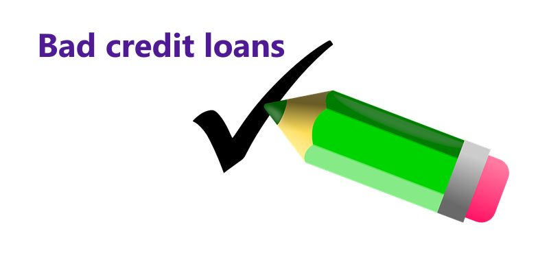bad credit loans approved
