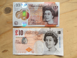 new 10 pound bank note
