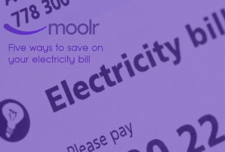 five ways to save on your electricity bills