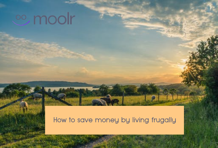 how to save money by living frugally